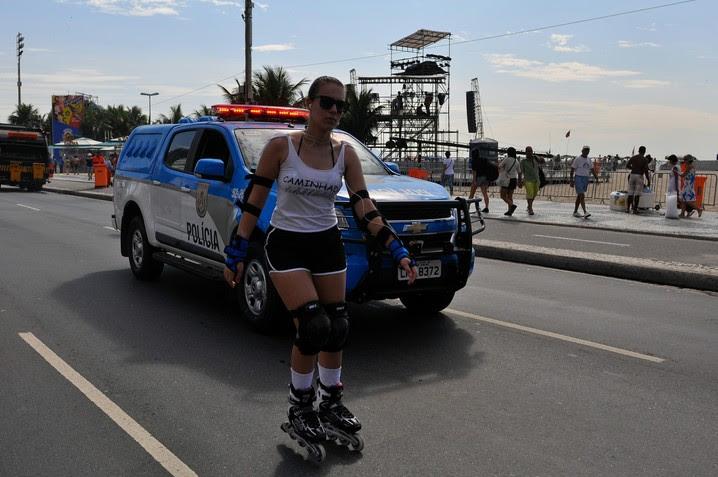 Esquema de segurança especial para a festa de Reveillon em Copabacana para evitar incidentes nesta quarta-feira