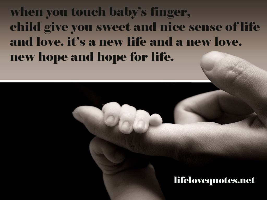 Quotes About New Life Baby 22 Quotes