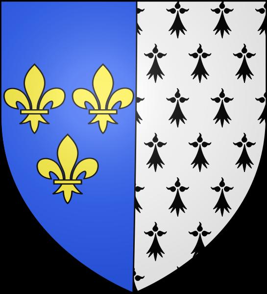 Archivo: Blason Anne de Bretagne (1476-1514) Reine de France.svg