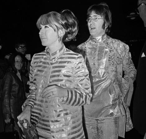 John Lennon lived in the property with his first wife Cynthia