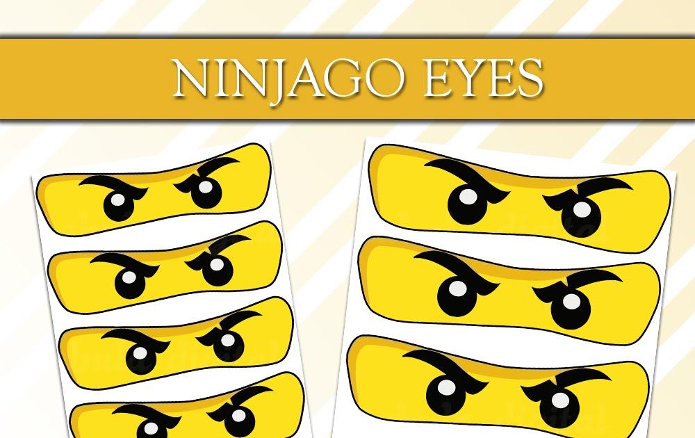 ninjago augen ausdrucken pdf  ninjago augen zum