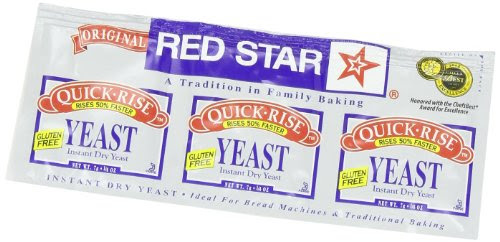 Red Star Quick Rise Yeast, For use in your oven or bread ...