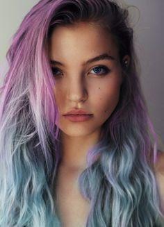 Sea Punk Hair Color