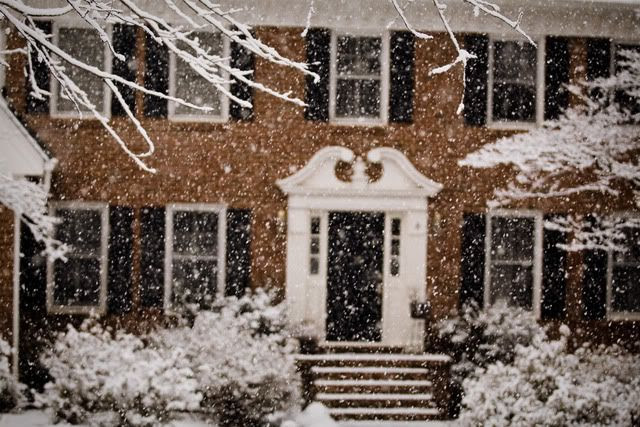 winter,snow,our house