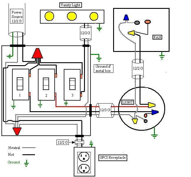 Wiring Diagram For Lights In House