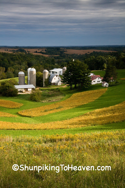 Farm in the Valley, Trempealeau County, Wisconsin