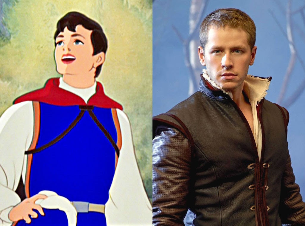 Prince Charming, Snow White, Animated Disney vs. Live Action Disney