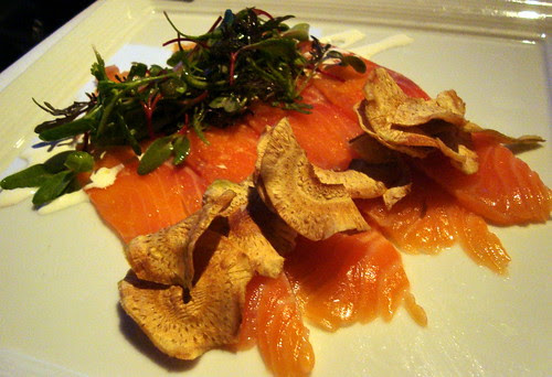 House Cured Salmon
