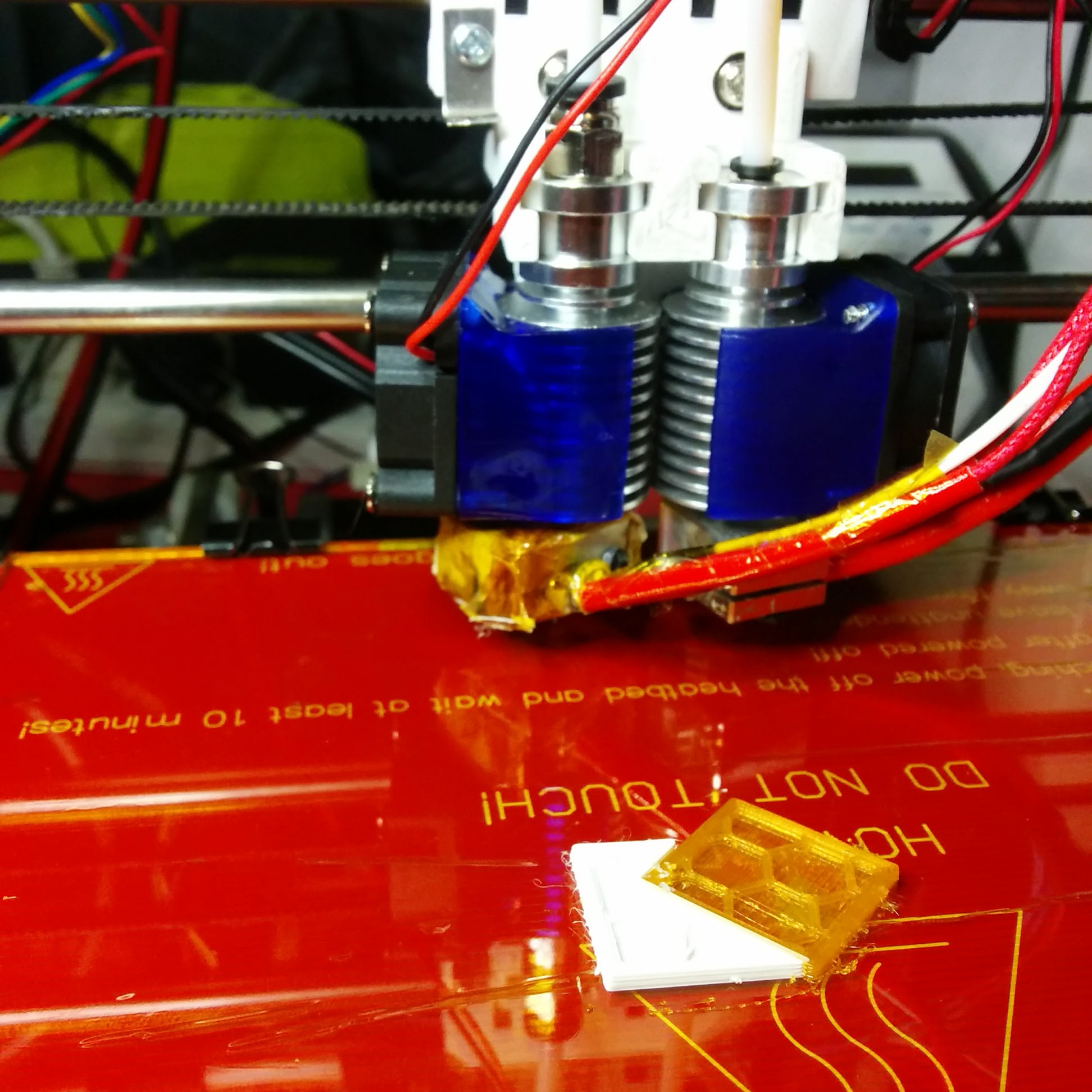 Laserphile Hydra dual head extruder system