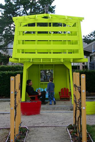 kids garden pavilion