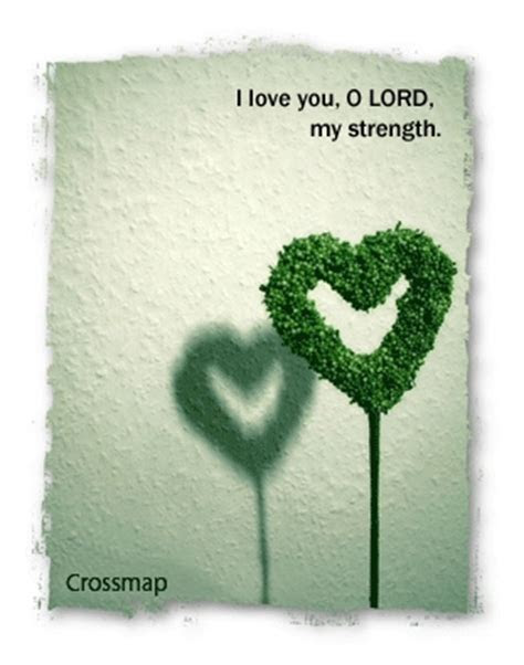 Lord You Are My Strength Quotes