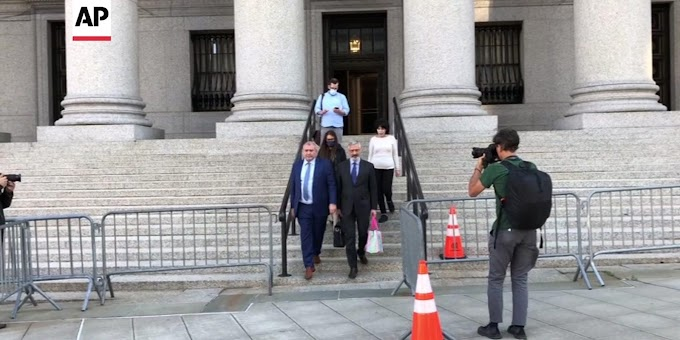 Giuliani associate convicted of campaign finance crimes
