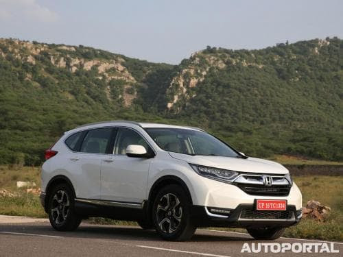 Honda Suv Price In India