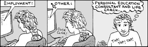 Home Spun comic strip #483