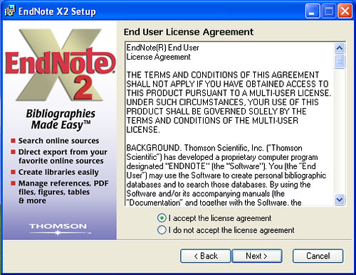 endnote 試用 版