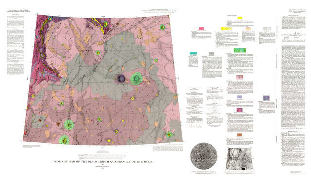 Geologic Map of Sinus Iridum