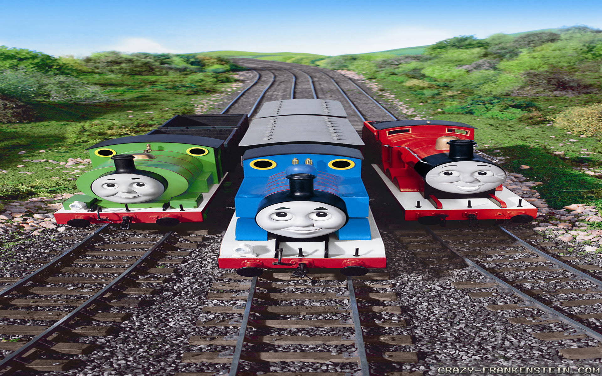 Thomas The Tank Engine Wallpapers Crazy Frankenstein