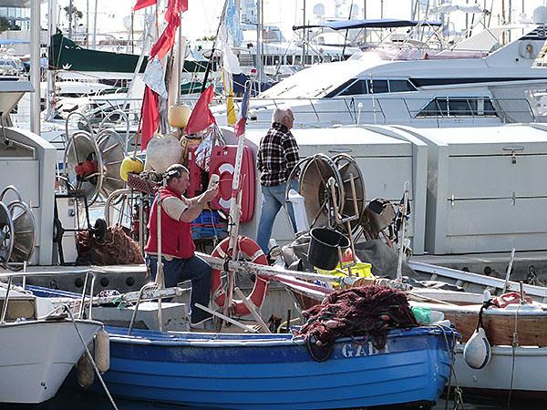 pêcheurs cannes