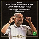 モーツァルト : アイネ・クライネ・ナハトムジーク&3つのディヴェルティメント