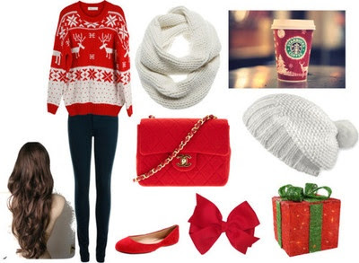 Christmas style! I wish it was winter for Christmas in Australia!! I wanna wear a cute christmas sweater
