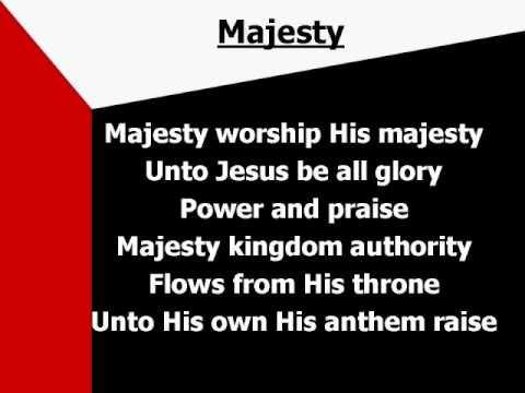 Majesty Worship His Majesty Lyrics Youtube