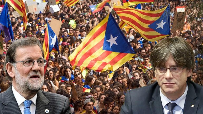 Δημοψήφισμα: Η Καταλονία επιμένει - H Μαδρίτη πείσμωσε