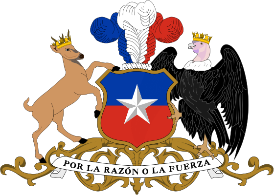 Archivo:Coat of arms of Chile.svg