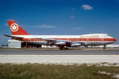 Air Canada Boeing 747-233B C-GAGB (msn 21627) MIA (Bruce Drum). Image: 102831.
