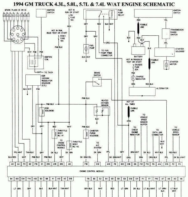 1994 Chevy Silverado Stereo Wiring Diagram