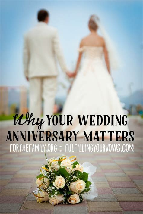 Why Your Wedding Anniversary Matters   for the family