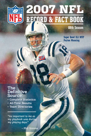 2007 NFL Record  Fact Book by National Football League — Reviews, Discussion, Bookclubs, Lists