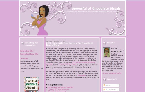 Spoonful of Chocolate Sistah