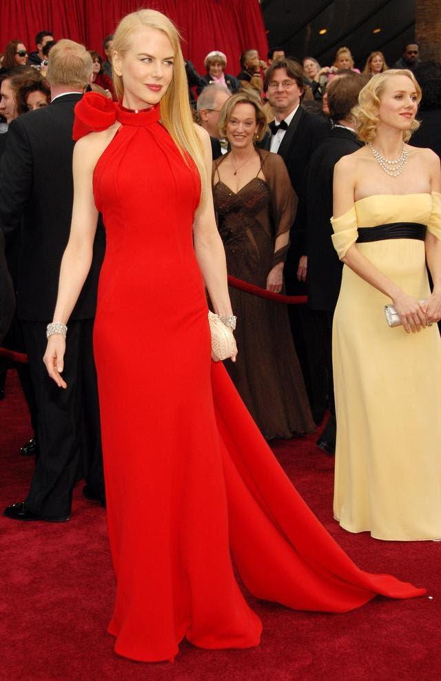 vestidos de Nicole Kidman y Naomi Watts Oscar 2012