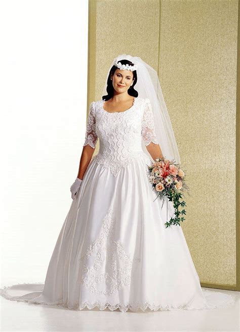 Plus size wedding gowns with sleeves   Page 2 of 5
