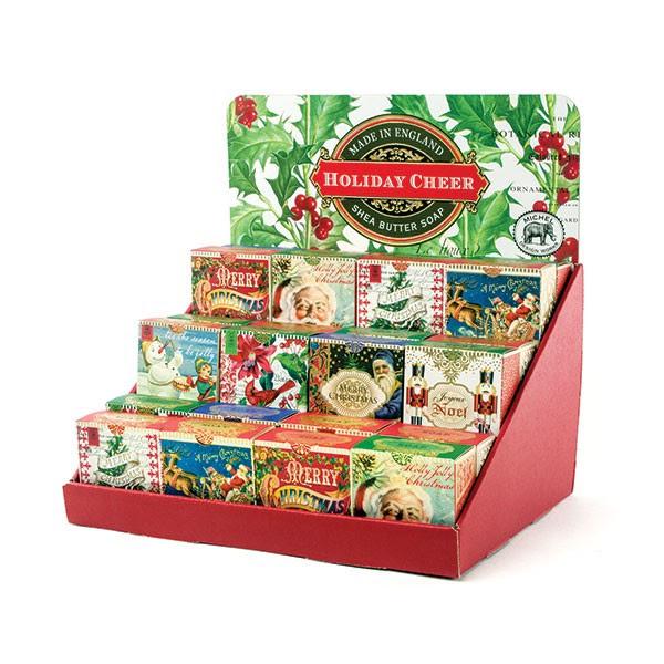 Michel Design Christmas Mini Soaps The Avant Garden Shop