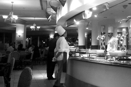 Chefs at the Plaza Cafe