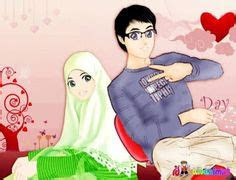 gambar kartun muslimah berdoa bergerak comel hobbies