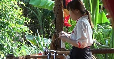 Độc đáo Quán ăn cổ trang tại Trà Vinh Quán tửu lầu | Em gái miền tây đi du lịch