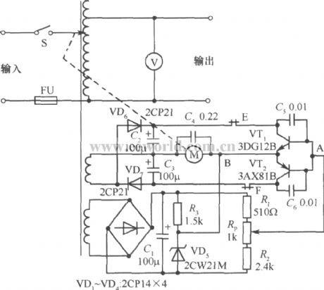 Schematic Diagram Of Automatic Voltage Regulator Of Ac ...