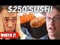 $3 Sushi Vs. $250 Sushi -
