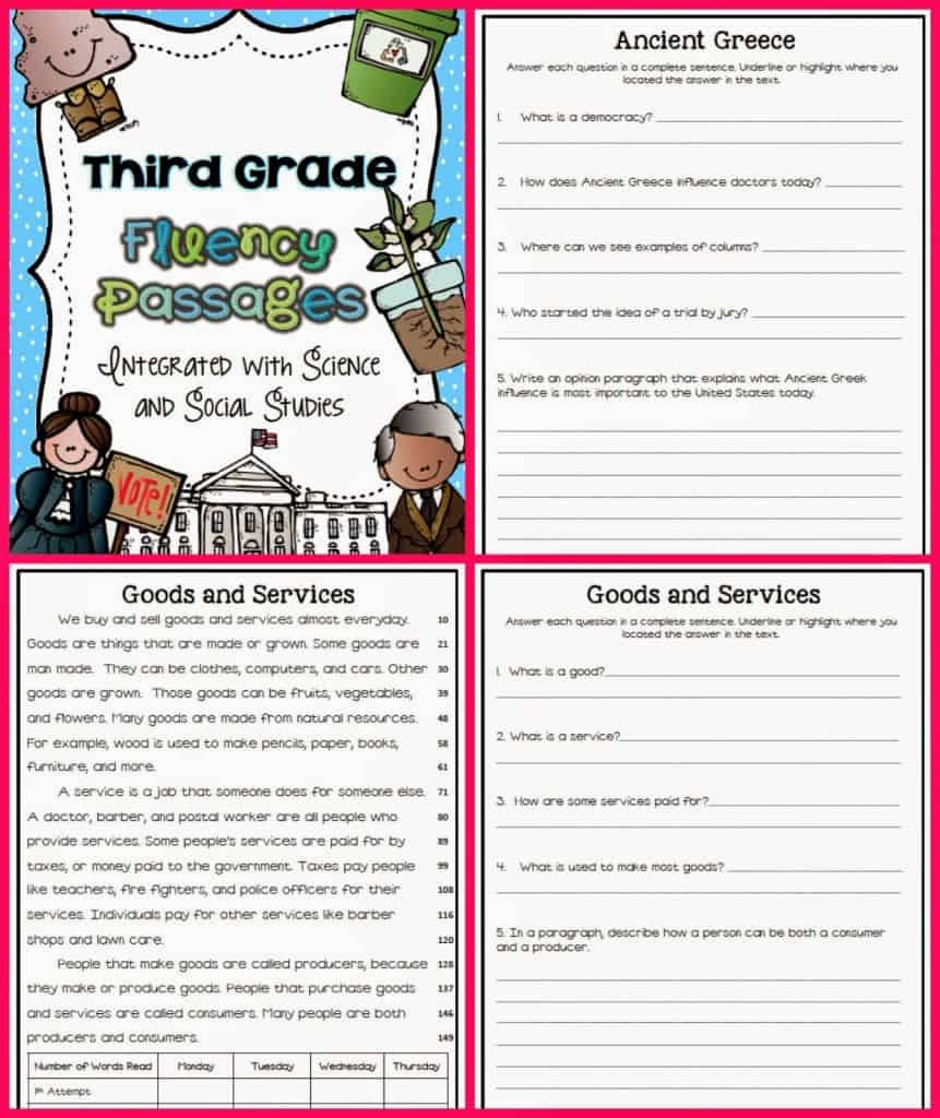 Fluency Passages Ashleigh S Education Journey