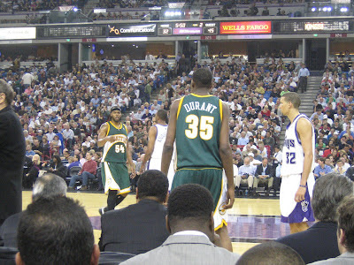 Kevin Durant Seattle Supersonics