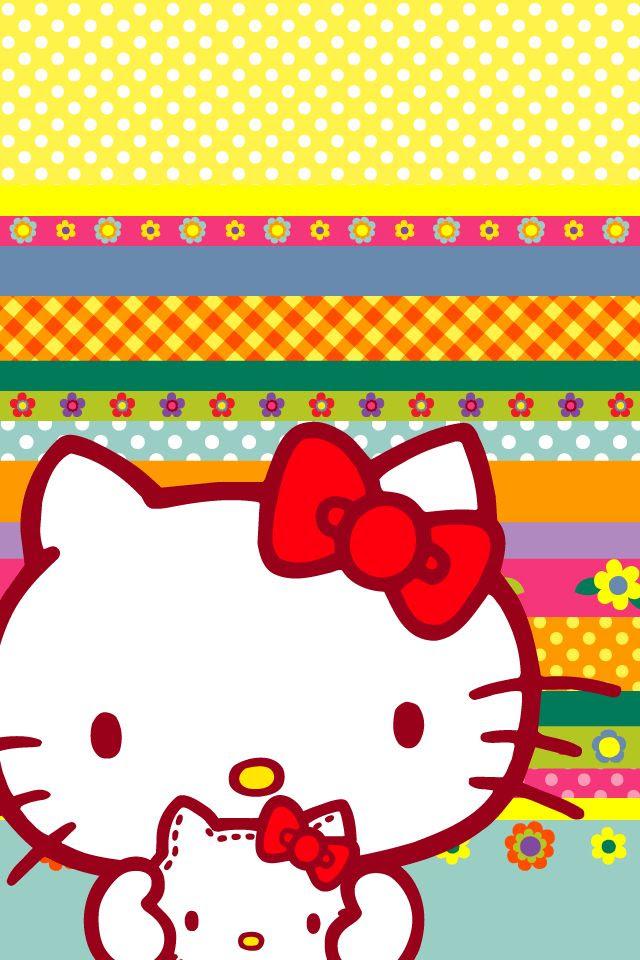 iphone wallpaper hello kitty  Wallpaper  Pinterest