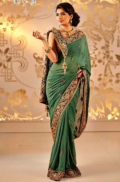 Satya Paul Bridal Saree Collection   Indian Bridal Saree's