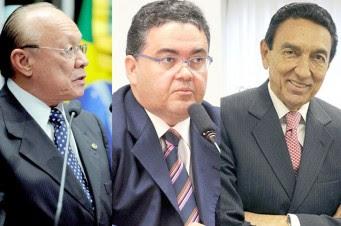 Montagem João Alberto, Roberto Rocha e Edison Lobão