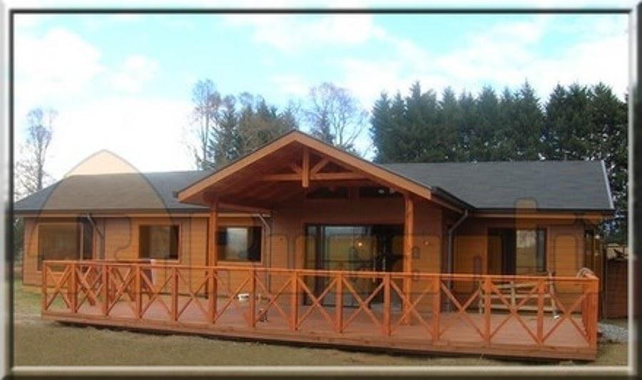 Casas de madera prefabricadas casa prefabricadas en chillan for Costo casa prefabricada