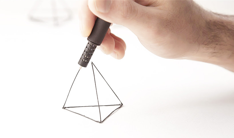 LIX 3D printing pen: the smallest in the world