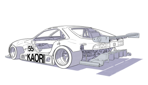 Jdm Honda Civic Drawing