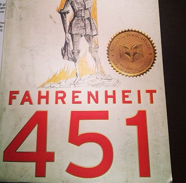 the no book lifestyle in the society in fahrenheit 451 by ray bradbury But he used his fiction to explore and criticize his culture and society bradbury by the bookstore fahrenheit 451 books in life of ray bradbury.