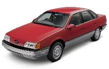 85 91 Ford Taurus Mercury Sable Fuse Diagram